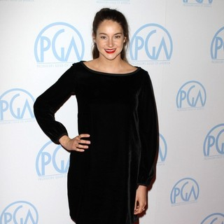 Shailene Woodley in The 23rd Annual Producers Guild Awards - Arrivals