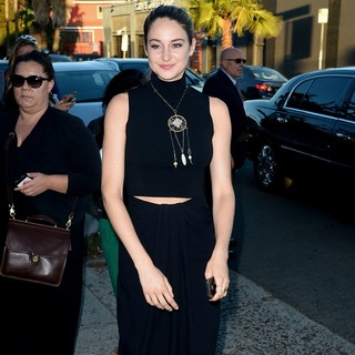 Shailene Woodley in Shailene Woodley Arrives at The Vista Street Theatre