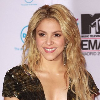 Shakira - MTV Europe Music Awards 2010 - Arrivals