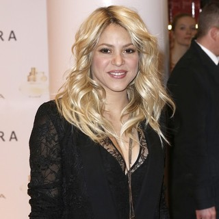 Shakira Promoting S by Shakira Perfume Launch