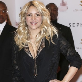 Shakira in Shakira Promoting S by Shakira Perfume Launch
