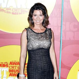 Shania Twain in 2011 CMT Music Awards