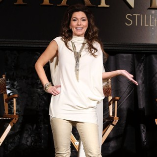 Shania Twain in A Press Conference for Shania: Still The One