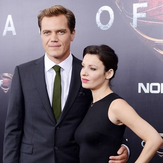 Michael Shannon, Kate Arrington in World Premiere of Man of Steel - Arrivals
