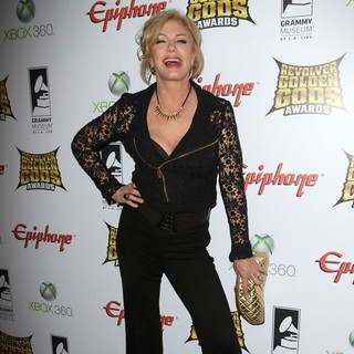 Shannon Tweed in 2012 Revolver Golden Gods Awards Show