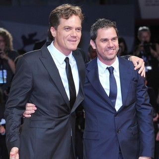 Michael Shannon, Ariel Vromen in The 69th Venice Film Festival - The Iceman - Premiere - Red Carpet