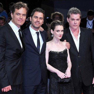 Michael Shannon, Ariel Vromen, Winona Ryder, Ray Liotta in The 69th Venice Film Festival - The Iceman - Premiere - Red Carpet
