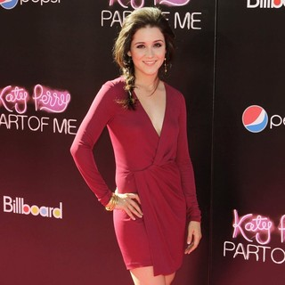Shannon Woodward in Katy Perry: Part of Me Los Angeles Premiere