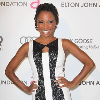 Shanola Hampton in 21st Annual Elton John AIDS Foundation's Oscar Viewing Party