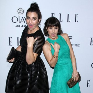 Sarah Gertrude Shapiro, Constance Zimmer in ELLE's 6th Annual Women in Television Celebration Presented by Hearts on Fire Diamonds and Olay
