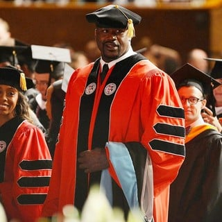 Shaquille O'Neal in Shaquille O'Neal Receives His Doctoral Degree in Education from Barry University