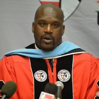 Shaquille O'Neal Receives His Doctoral Degree in Education from Barry University