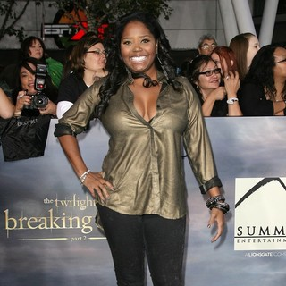 Shar Jackson in The Premiere of The Twilight Saga's Breaking Dawn Part II