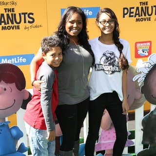 Shar Jackson in The Premiere of The Peanuts Movie