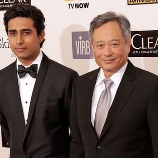 Suraj Sharma, Ang Lee in 18th Annual Critics' Choice Movie Awards