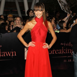 Sharni Vinson in The Twilight Saga's Breaking Dawn Part I World Premiere