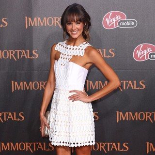 Sharni Vinson in Immortals 3D Los Angeles Premiere