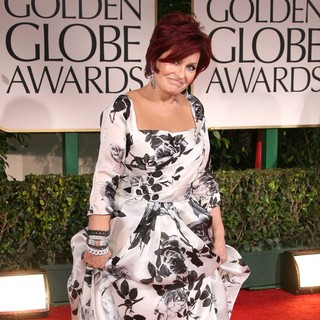 Sharon Osbourne in The 69th Annual Golden Globe Awards - Arrivals