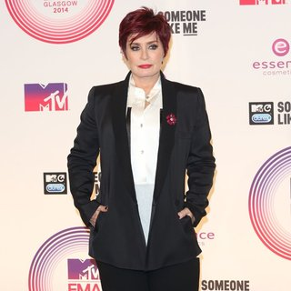 Sharon Osbourne - MTV Europe Music Awards 2014 - Press Room