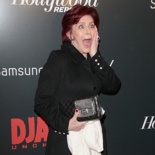 Sharon Osbourne in The Premiere of Django Unchained