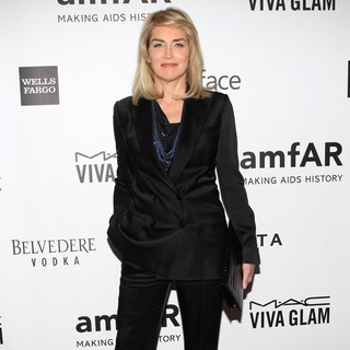 Sharon Stone in 2013 amfAR Inspiration Gala Los Angeles Presented by MAC Viva Glam