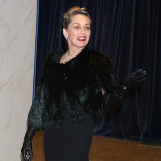 Sharon Stone in 2013 White House Correspondents' Association Dinner - Arrivals