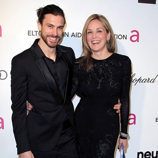 Sharon Stone in 21st Annual Elton John AIDS Foundation's Oscar Viewing Party