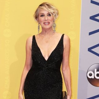 Sharon Stone in 50th Annual CMA Awards - Arrivals