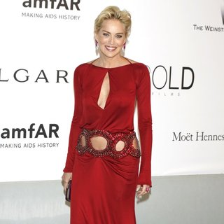 Sharon Stone in amfAR 21st Annual Cinema Against AIDS During The 67th Cannes Film Festival
