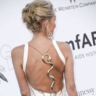 Sharon Stone in 66th Cannes Film Festival - amfAR's 20th Annual Cinema Against AIDS - Arrivals - sharon-stone-amfar-s-20th-annual-cinema-against-aids-03