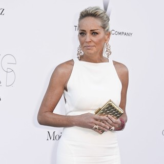 Sharon Stone in 66th Cannes Film Festival - amfAR's 20th Annual Cinema Against AIDS - Arrivals - sharon-stone-amfar-s-20th-annual-cinema-against-aids-04