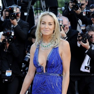 Sharon Stone in 66th Cannes Film Festival - Behind the Candelabra Premiere - sharon-stone-behind-the-candelabra-premiere-05