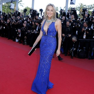 Sharon Stone in 66th Cannes Film Festival - Behind the Candelabra Premiere