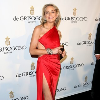 Sharon Stone in De Grisogono Party During 66th Cannes Film Festival
