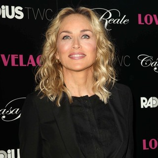 Sharon Stone in Lovelace Los Angeles Premiere