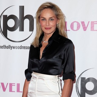 Sharon Stone in VIP Screening of Lovelace Hosted by Planet Hollywood Resort and Casino Las Vegas - Arrivals