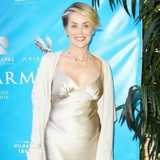 Sharon Stone - Brett Ratner and David Raymond's Event Honoring United Nations Secretary General Ban Ki-moon