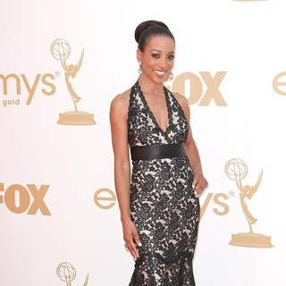 Shaun Robinson in The 63rd Primetime Emmy Awards - Arrivals