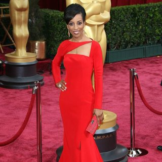Shaun Robinson in The 86th Annual Oscars - Red Carpet Arrivals