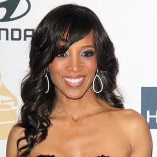 Shaun Robinson in Clive Davis and The Recording Academy's 2013 Pre-Grammy Gala and Salute to Industry Icons