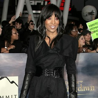 Shaun Robinson in The Premiere of The Twilight Saga's Breaking Dawn Part II