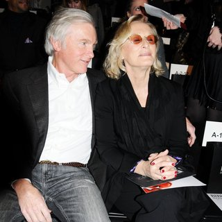 David Shaw, Glenn Close in Mercedes-Benz Fashion Week - Fall 2012 - Bibhu Mohapatra - Front Row