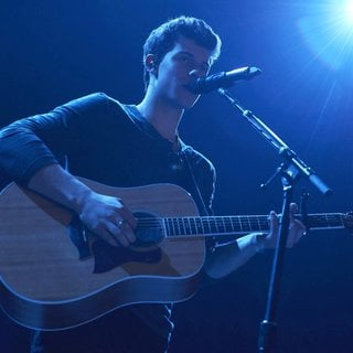 Shawn Mendes Performs Live in Concert