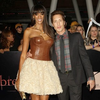 Judi Shekoni, Joe Reegan in The Twilight Saga's Breaking Dawn Part I World Premiere