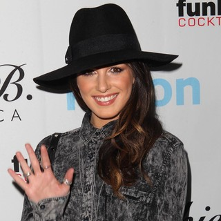 Shenae Grimes in Get Festive with Frankie B. and Kitson