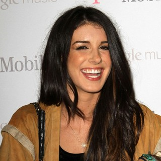 Shenae Grimes in Celebrity Magenta Carpet Arrivals at The Launch Party for Google Music Available on T-Mobile