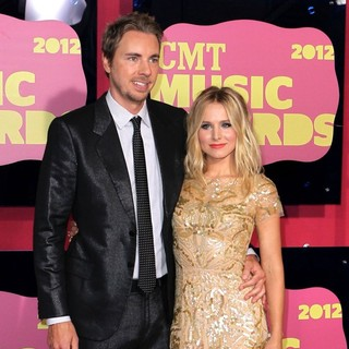 Dax Shepard, Kristen Bell in 2012 CMT Music Awards