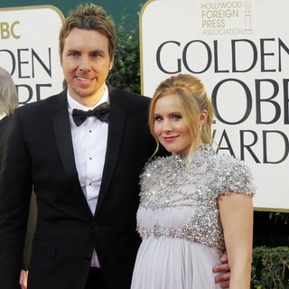 Dax Shepard, Kristen Bell in 70th Annual Golden Globe Awards - Arrivals