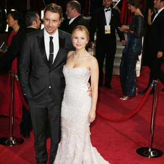Dax Shepard, Kristen Bell in The 86th Annual Oscars - Red Carpet Arrivals