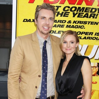 Dax Shepard, Kristen Bell in The Los Angeles Premiere of Hit and Run